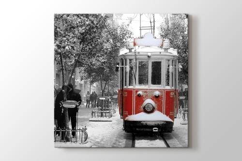 İstiklal Caddesi ve Tramvay görseli.