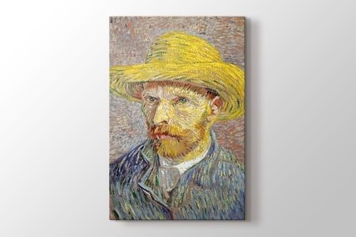 Self Portrait with Straw Hat 1887 Metropolitan görseli.