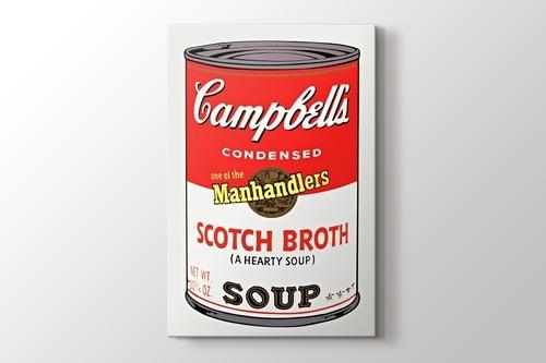 Campbells Soup I 1968 görseli.