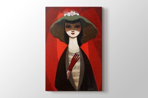 Woman with Cigarette görseli.