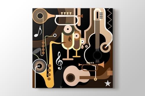 Soyut Müzik görseli.