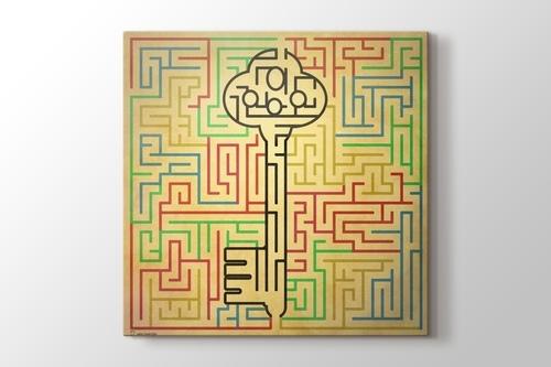 Labirentin Anahtarı görseli.
