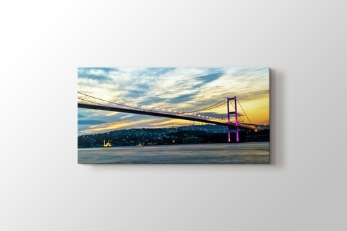Boğaziçi Köprüsü Günbatımı görseli.