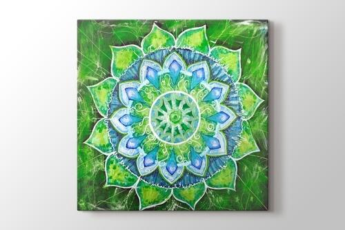 Yeşil Mandala görseli.