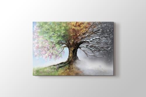 4 Mevsim Ağaç görseli.