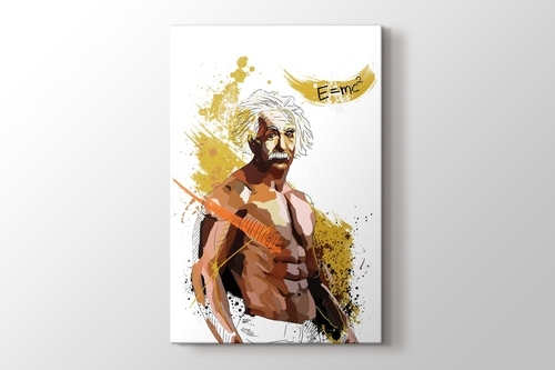 Fighter Albert Einstein görseli.