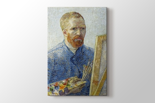 Self Portrait as a Painter 1887-1888 görseli.