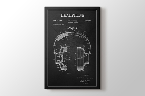 Headphone Patent görseli.