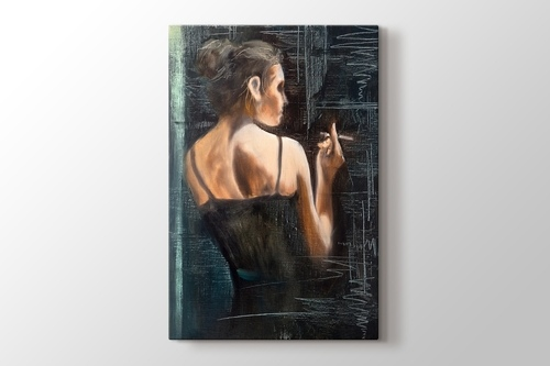 Girl with Cigarette görseli.