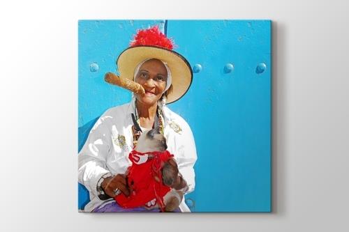 Cuban Cigar Lady görseli.
