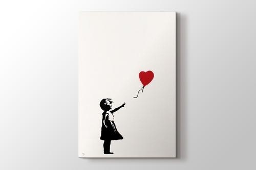Girl With Balloon görseli.