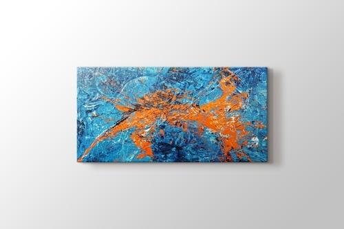 Orange Cyan Abstract görseli.