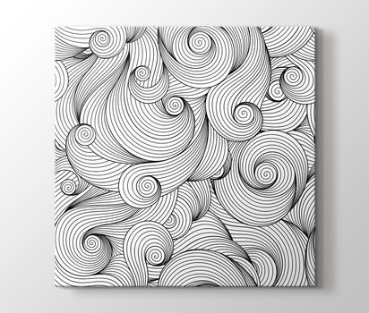 Spiraller Boyama Tablo Burada Pluscanvas