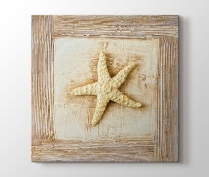 Deniz Yıldızı Natürmort Ve Objeler Kanvas Tablo Burada Pluscanvas
