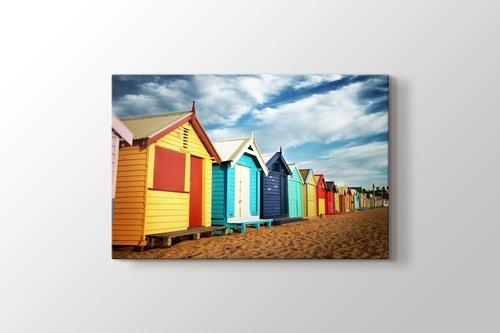 Melbourne - Brighton Beach görseli.