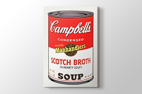 Campbells Soup I 1968 görseli.