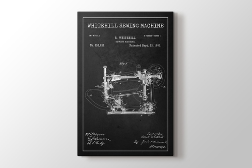 Sewing Machine Patent görseli.