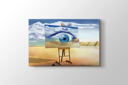 Eye on Canvas Abstract görseli.