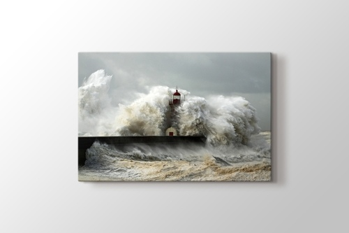 Fırtınalı Sahil görseli.
