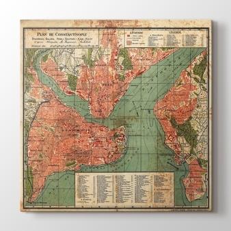Eski Dünya Haritası 1793 Kanvas Tablo Burada Pluscanvas