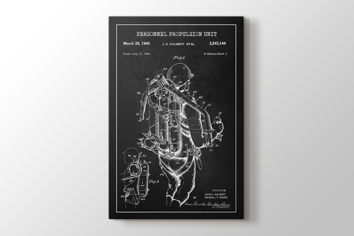 Personnel Propulsion Unit Patent görseli.