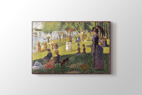 A Sunday Afternoon on the Island of La Grande Jatte görseli.
