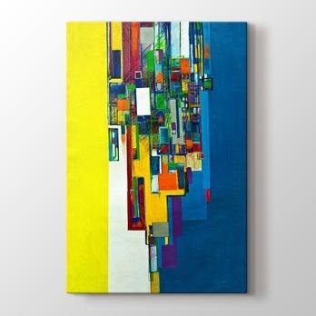 Soyut Sulu Boya Renkler Kanvas Tablo Burada Pluscanvas