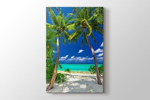 Tropical Blue Lagoon görseli.