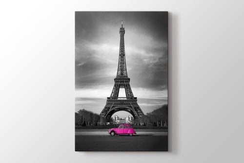 Eiffel Pink Car görseli.