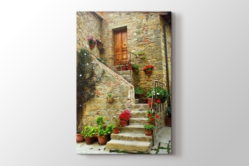 Tuscany - Monticchiello görseli.