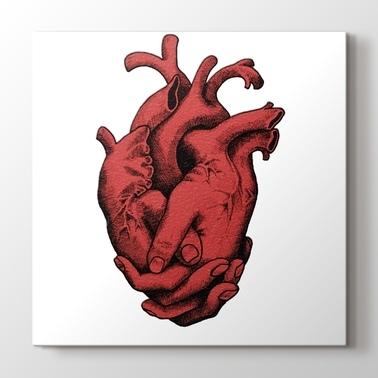 Kanvas Tablo Arama Heart Pluscanvas Pluscanvas