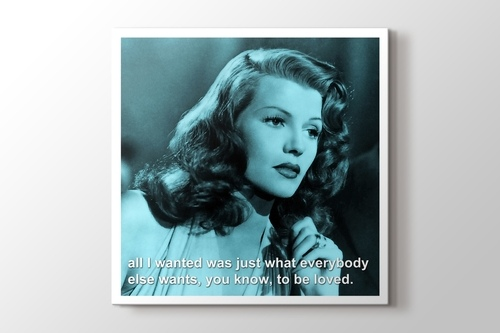 Rita Hayworth - To Be Loved görseli.