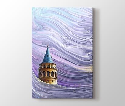 Galata Kulesi Istanbul Kanvas Tablo Burada Pluscanvas