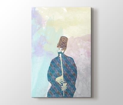 Sufi Ya Hz Mevlana Pakise Tasarım Kanvas Tablo Burada Pluscanvas
