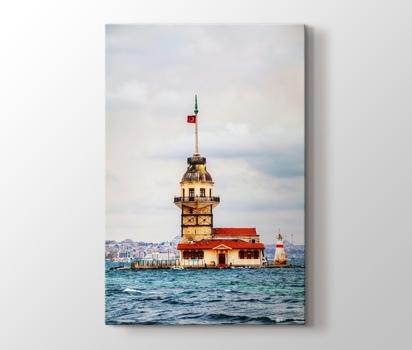 Istanbul Kız Kulesi Kanvas Tablo Burada Pluscanvas