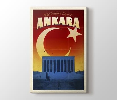 Ankara Anıtkabir Emrah Yücel Kanvas Tablo Burada Pluscanvas