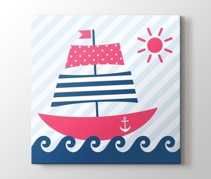 Yelkenli Gemi Kanvas Tablo Burada Pluscanvas