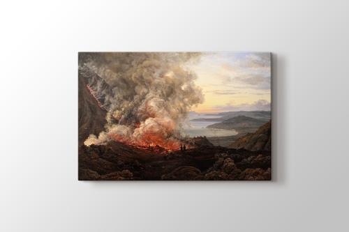 Eruption du Vésuve görseli.