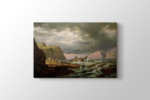 Shipwreck on the Coast of Norway görseli.