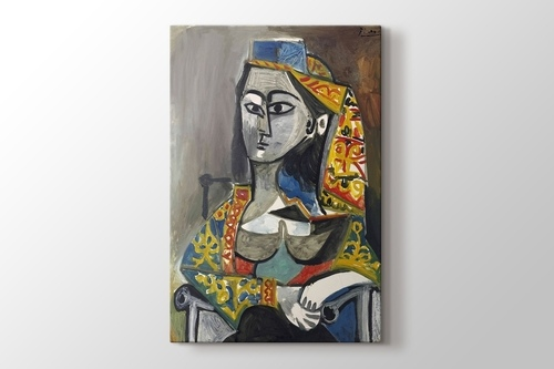 Woman With Turk Costume - Türk Kostümlü Kadın görseli.