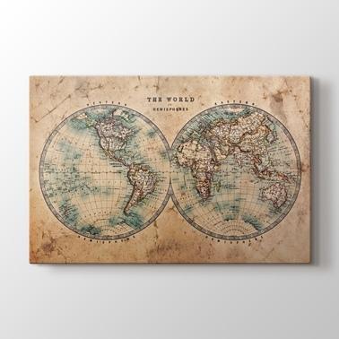 Güncel Ve Antik Harita Tablolar Kanvas Tablo Galerisi Pluscanvas