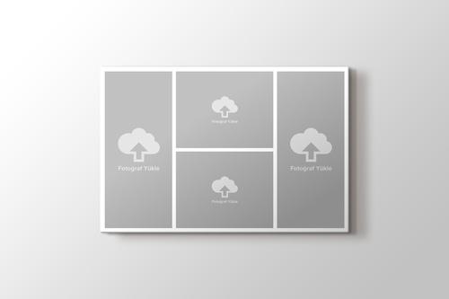 4 fotoğraftan yatay kolaj tablo görseli.