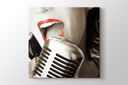 Red Lips and the Microphone görseli.