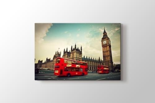 Big Ben and Red Buses görseli.