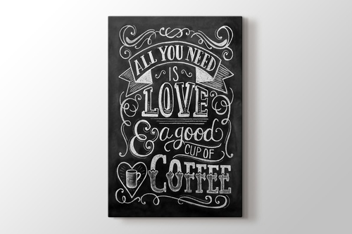 All You Need is Love or Coffee görseli.