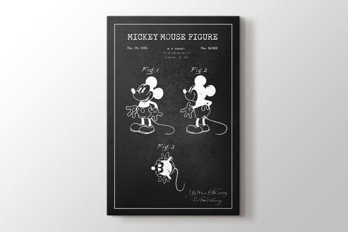Mickey Mouse Patent görseli.