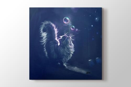 Gece Ve Kedi görseli.