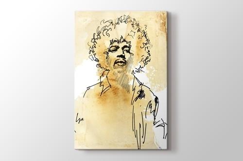 Jimi Hendrix görseli.