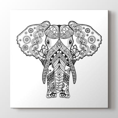 Mandala Ve Boyama Tablolar Pluscanvas