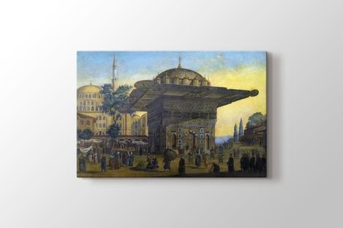 Tophane Çeşmesi İstanbul görseli.